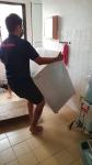 Moving of Washing Machine